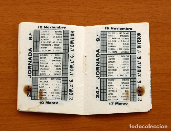 Coleccionismo deportivo: Calendario de Liga 1967-1968, 67-68 - Cigarrillos RUMBO - Foto 6 - 148053126