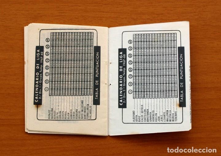 Coleccionismo deportivo: Calendario de Liga 1967-1968, 67-68 - Cigarrillos RUMBO - Foto 10 - 148053126