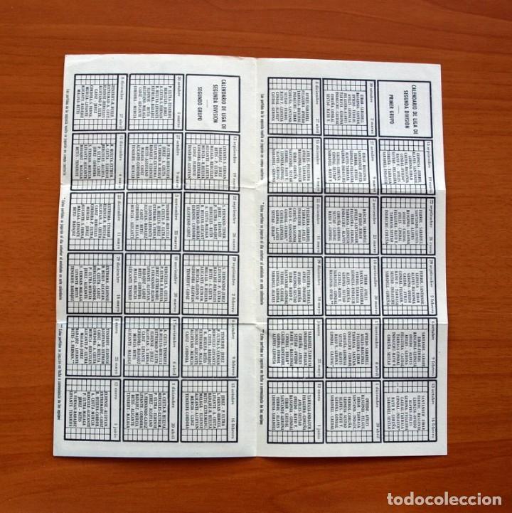 Coleccionismo deportivo: Calendario de Liga 1957-1958, 57-58 - Atlético Madrid - Establecimientos Díaz - Madrid - Foto 5 - 148191578