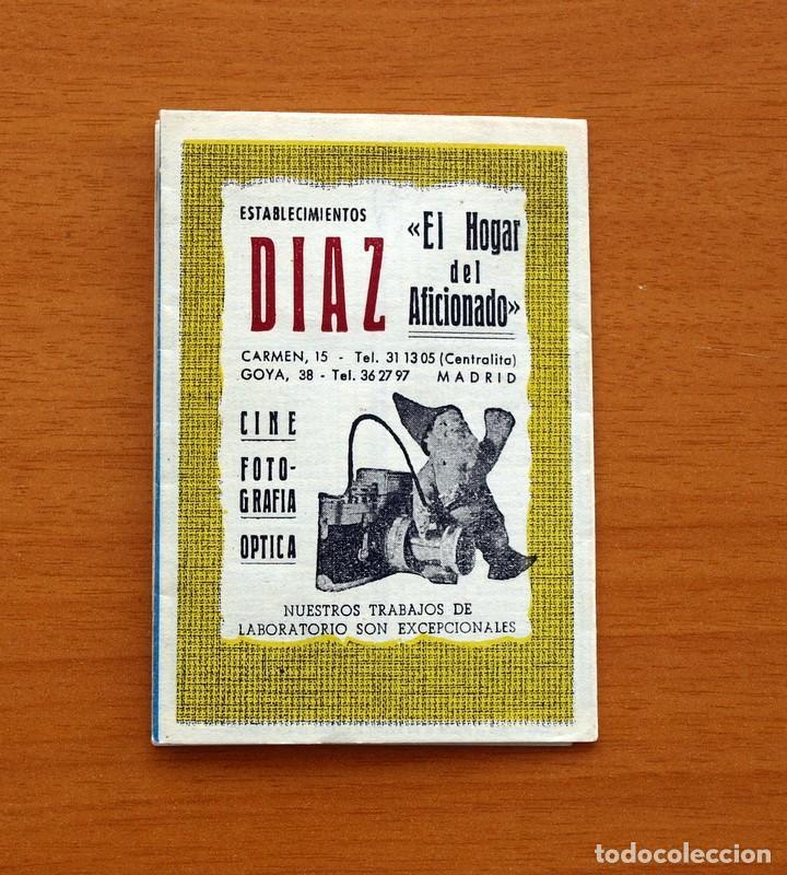 Coleccionismo deportivo: Calendario de Liga 1957-1958, 57-58 - Atlético Madrid - Establecimientos Díaz - Madrid - Foto 6 - 148191578
