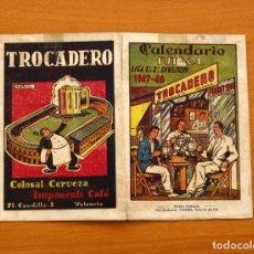 Coleccionismo deportivo: CALENDARIO DE LIGA 1947-1948, 47-48 - TROCADERO - VALENCIA. Lote 148194930