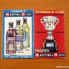 Coleccionismo deportivo: CALENDARIO DE LIGA 1949-1950, 49-50 - VERMUT MARTINI ROSSI. Lote 148204058