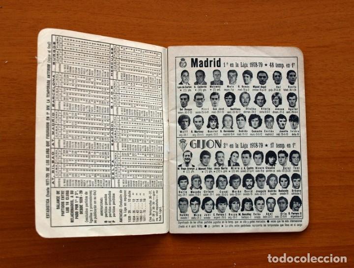Coleccionismo deportivo: Calendario de liga 1979-1980, 79-80 - Francisco Rico Pintor, Gestor administrativo - ELCHE - Foto 2 - 148258202