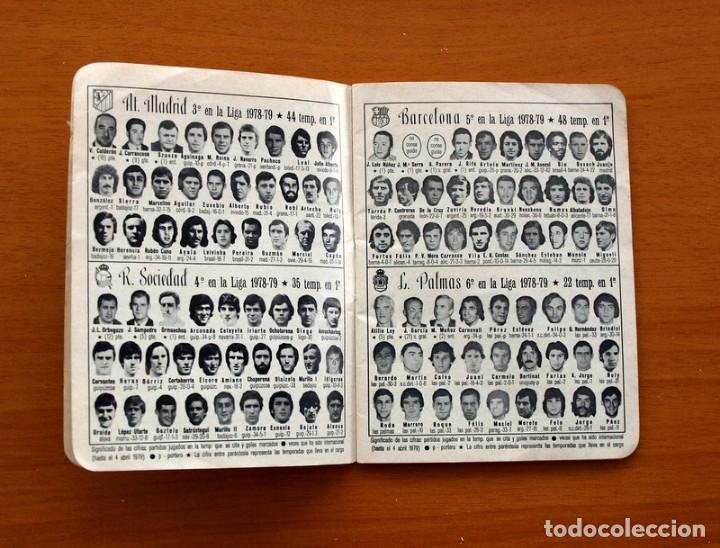 Coleccionismo deportivo: Calendario de liga 1979-1980, 79-80 - Francisco Rico Pintor, Gestor administrativo - ELCHE - Foto 3 - 148258202