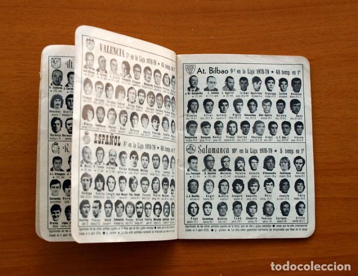 Coleccionismo deportivo: Calendario de liga 1979-1980, 79-80 - Francisco Rico Pintor, Gestor administrativo - ELCHE - Foto 4 - 148258202
