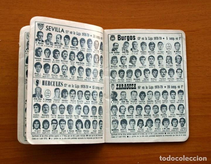 Coleccionismo deportivo: Calendario de liga 1979-1980, 79-80 - Francisco Rico Pintor, Gestor administrativo - ELCHE - Foto 5 - 148258202