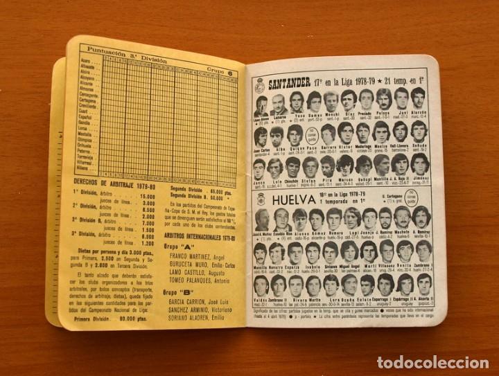 Coleccionismo deportivo: Calendario de liga 1979-1980, 79-80 - Francisco Rico Pintor, Gestor administrativo - ELCHE - Foto 9 - 148258202