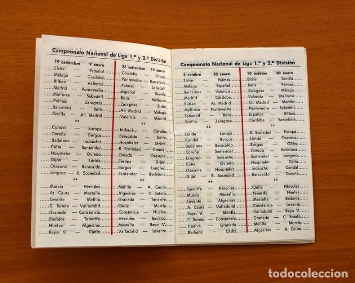 Coleccionismo deportivo: Calendario de liga 1979-1980, 79-80 - Francisco Rico Pintor, Gestor administrativo - ELCHE - Foto 14 - 148258202