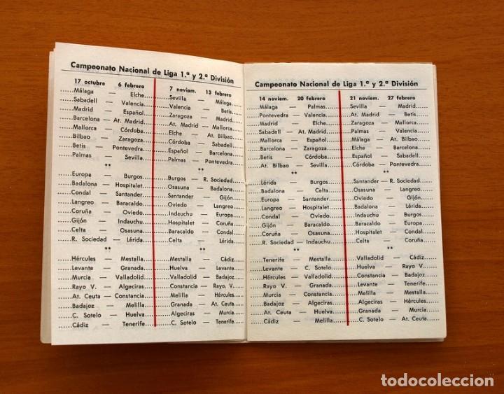Coleccionismo deportivo: Calendario de liga 1979-1980, 79-80 - Francisco Rico Pintor, Gestor administrativo - ELCHE - Foto 15 - 148258202