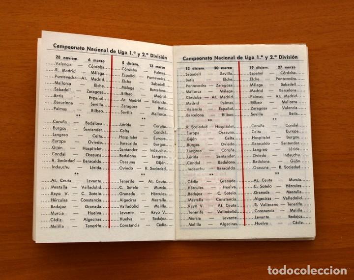 Coleccionismo deportivo: Calendario de liga 1979-1980, 79-80 - Francisco Rico Pintor, Gestor administrativo - ELCHE - Foto 16 - 148258202