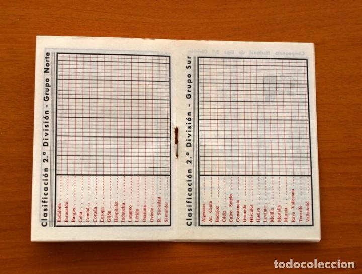 Coleccionismo deportivo: Calendario de liga 1979-1980, 79-80 - Francisco Rico Pintor, Gestor administrativo - ELCHE - Foto 18 - 148258202
