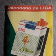 Coleccionismo deportivo: CALENDARIO DE LIGA 1967-68 - 67-1968 - CON PUBLICIDAD CIGARRILLOS RUMBO -. Lote 148280650