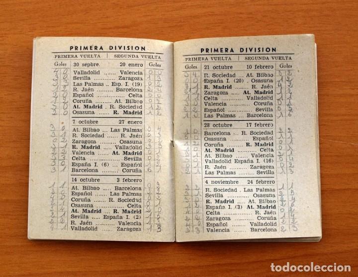 Coleccionismo deportivo: Calendario de Liga 1956-1957, 56-57 - Fútbol - Bar Becerra - Madrid - Foto 4 - 148322798