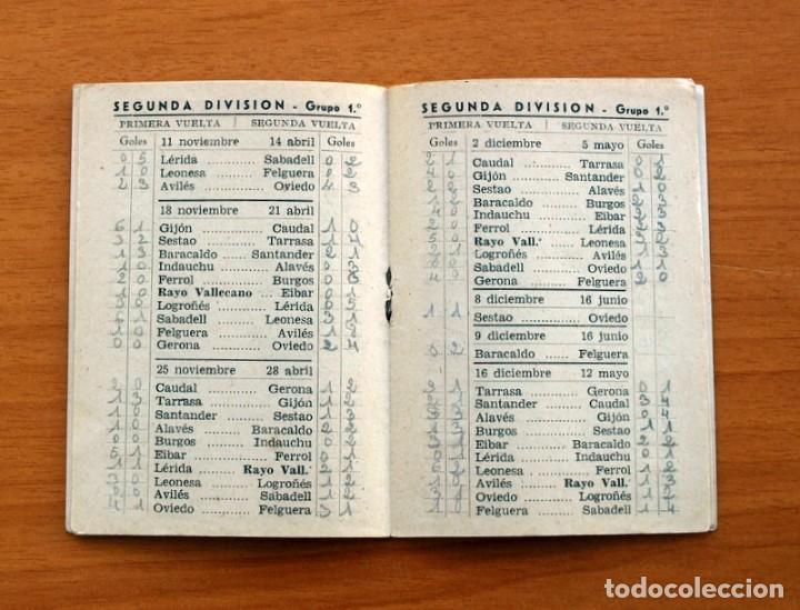 Coleccionismo deportivo: Calendario de Liga 1956-1957, 56-57 - Fútbol - Bar Becerra - Madrid - Foto 8 - 148322798
