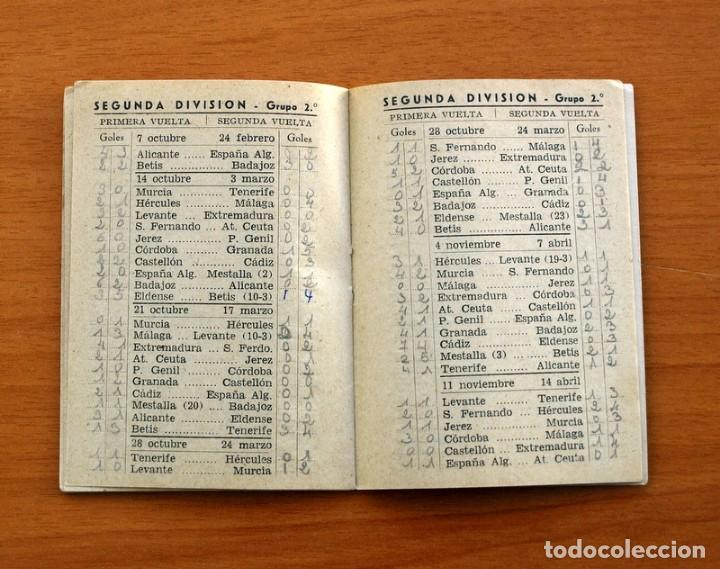 Coleccionismo deportivo: Calendario de Liga 1956-1957, 56-57 - Fútbol - Bar Becerra - Madrid - Foto 11 - 148322798