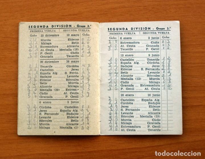 Coleccionismo deportivo: Calendario de Liga 1956-1957, 56-57 - Fútbol - Bar Becerra - Madrid - Foto 13 - 148322798