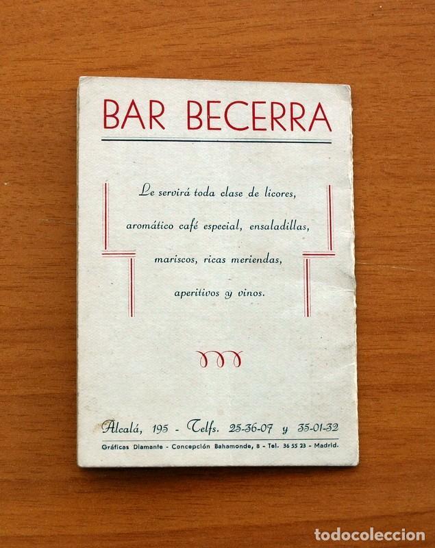 Coleccionismo deportivo: Calendario de Liga 1956-1957, 56-57 - Fútbol - Bar Becerra - Madrid - Foto 14 - 148322798