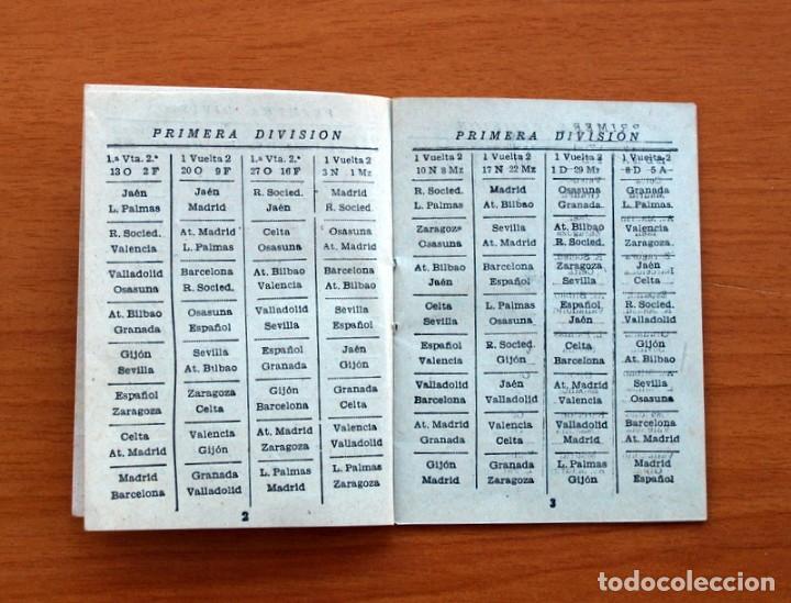 Coleccionismo deportivo: Calendario Campeonato Nacional de liga 1957-1958, 57-58 - Fútbol - Foto 3 - 148723226