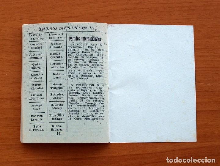 Coleccionismo deportivo: Calendario Campeonato Nacional de liga 1957-1958, 57-58 - Fútbol - Foto 10 - 148723226