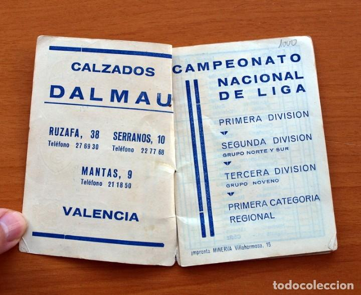 Coleccionismo deportivo: Calendario de Liga 1965-1966, 65-66 - Fútbol - Calzados Dalmau - Valencia - Foto 3 - 148737774