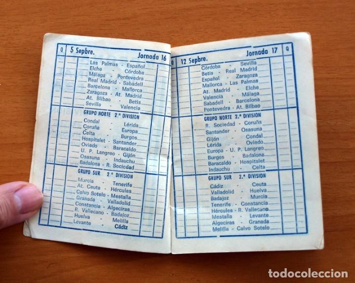 Coleccionismo deportivo: Calendario de Liga 1965-1966, 65-66 - Fútbol - Calzados Dalmau - Valencia - Foto 4 - 148737774