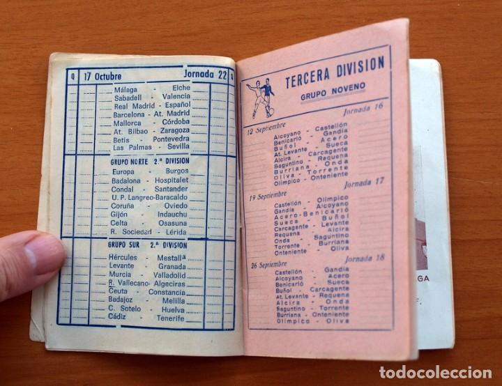 Coleccionismo deportivo: Calendario de Liga 1965-1966, 65-66 - Fútbol - Calzados Dalmau - Valencia - Foto 7 - 148737774