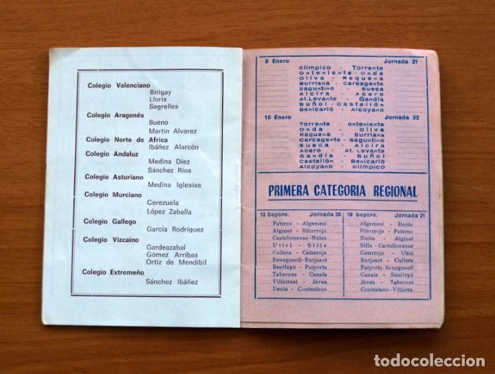 Coleccionismo deportivo: Calendario de Liga 1965-1966, 65-66 - Fútbol - Calzados Dalmau - Valencia - Foto 11 - 148737774