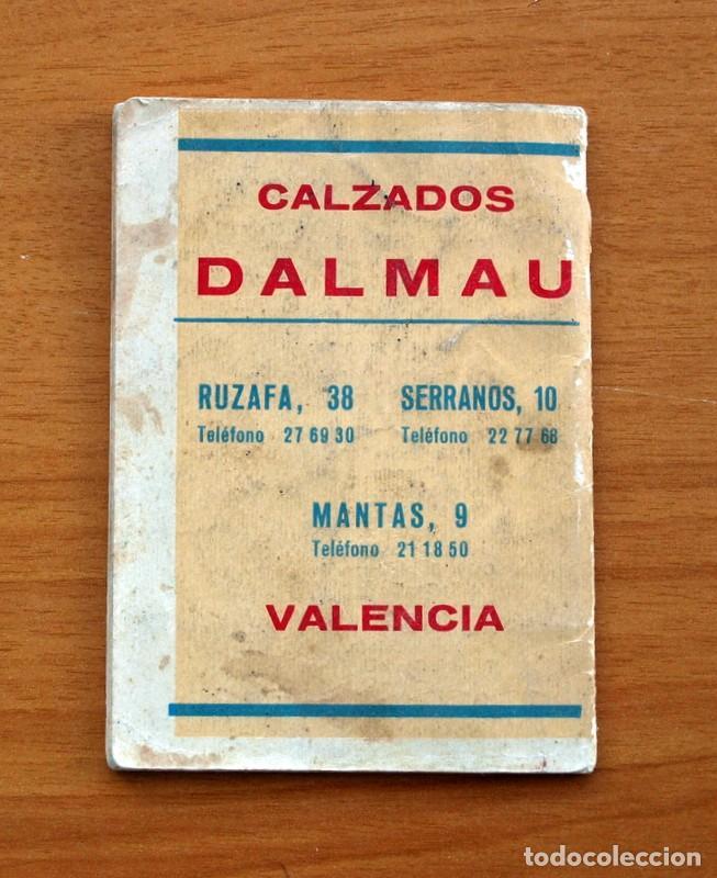 Coleccionismo deportivo: Calendario de Liga 1965-1966, 65-66 - Fútbol - Calzados Dalmau - Valencia - Foto 18 - 148737774