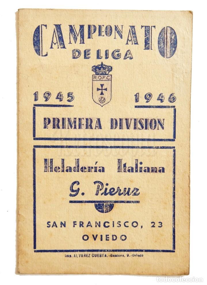Liga Calendario.Calendario De Liga Temporada 1945 1946 Futbol D Sold Through
