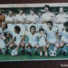 Coleccionismo deportivo: CALENDARIO NACIONAL DE LIGA. TEMPORADA 1979 - 80. SEVILLA F.C. PUBLICIDAD BAR LOS CARMENES.. Lote 149860066