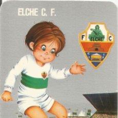 Coleccionismo deportivo: CALENDARIO DE BOLSILLO - ELCHE CLUB DE FUTBOL - 1977. Lote 151030210