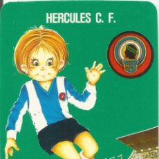 Collectionnisme sportif: CALENDARIO DE BOLSILLO - HERCULES CLUB DE FUTBOL - 1976. Lote 151030298