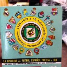 Collectionnisme sportif: CALENDARIO DINAMICO LIGA FUTBOL 1999-2000. Lote 152022958