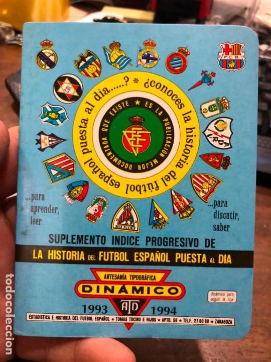 CALENDARIO DINAMICO LIGA FUTBOL 1993-1994 (Coleccionismo Deportivo - Documentos de Deportes - Calendarios)