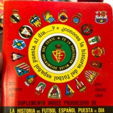 Collectionnisme sportif: CALENDARIO DINAMICO LIGA FUTBOL 1992-1993. Lote 152026314