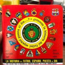 Coleccionismo deportivo: CALENDARIO DINAMICO LIGA FUTBOL 1992-1993. Lote 152026438
