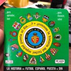 Collectionnisme sportif: CALENDARIO DINAMICO LIGA FUTBOL 1986-1987. Lote 152026574