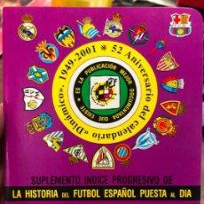 Collectionnisme sportif: CALENDARIO DINAMICO LIGA FUTBOL 2001-2002. Lote 152028858