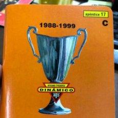 Collectionnisme sportif: CALENDARIO DINAMICO FUTBOL XXXIX CAMPEONATOS RECOPA DE EUROPA 1988-1999. Lote 152029154