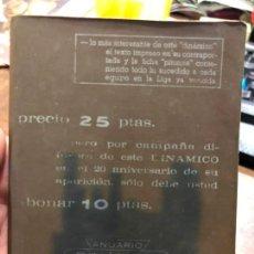 Collectionnisme sportif: CALENDARIO DINAMICO LIGA FUTBOL 1970-971. Lote 152030302