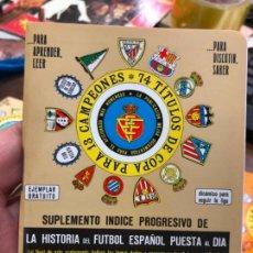 Coleccionismo deportivo: CALENDARIO DINAMICO LIGA FUTBOL 1978-1979. Lote 152035246