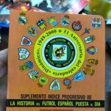 Collectionnisme sportif: CALENDARIO DINAMICO LIGA FUTBOL 2000-2001. Lote 152285782