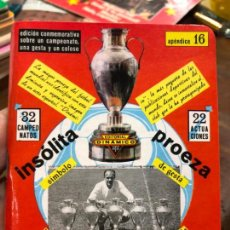 Collectionnisme sportif: CALENDARIO DINAMICO FUTBOL REAL MADRID - INSOLITA PROEZA. Lote 152286854