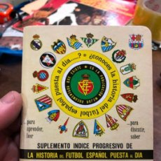 Collectionnisme sportif: CALENDARIO DINAMICO LIGA FUTBOL 1989-1990. Lote 152287314