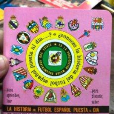 Coleccionismo deportivo: CALENDARIO DINAMICO LIGA FUTBOL 1994-1995. Lote 152297574
