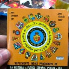 Coleccionismo deportivo: CALENDARIO DINAMICO LIGA FUTBOL 1987-1988. Lote 152298030