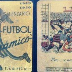 Coleccionismo deportivo: CALENDARIO DIMÁMICO FÚTBOL 1949-50. Lote 152645921