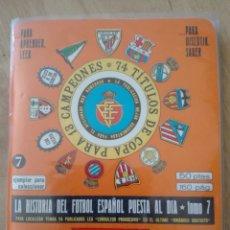 Coleccionismo deportivo: SUPER DINÁMICO TEMPORADA 1977 1978. CON SUPLEMENTO Y FUNDA. Lote 153172388