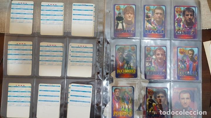 Coleccionismo deportivo: Calendarios de bolsillo BARÇA 1996 - Foto 2 - 154864198