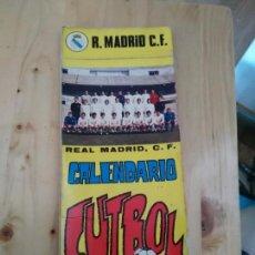 Coleccionismo deportivo: REAL MADRID, C.F. - CALENDARIO CON FOTOS A TODO COLOR. AÑO 1972.. Lote 156723330